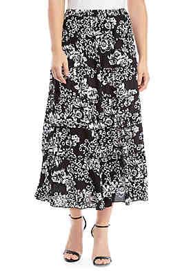 1d9f32b5e Kim Rogers® Woven Maxi Skirt ...