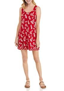 afee0c5d3007 ... Kim Rogers® Petite Sleeveless Reversible Flip Flop Dress