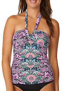 Leilani Beach House Lux Tankini Swim Top