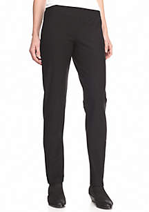Solid Slim Pants