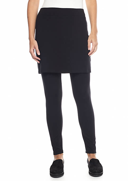 Eileen Fisher Jersey Knit Skirted Legging