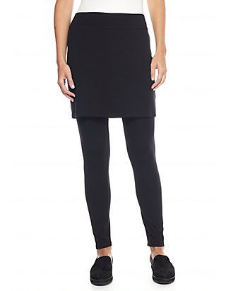 e13b6d54694cc9 Eileen Fisher. Eileen Fisher Jersey Knit Skirted Legging