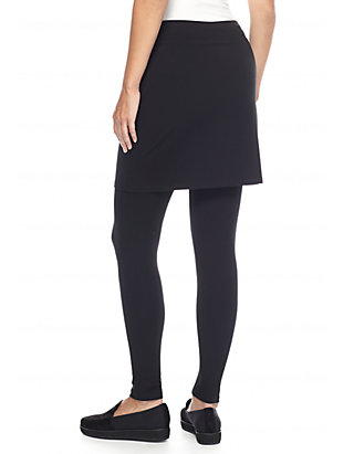eb485cefc8e50 Eileen Fisher Jersey Knit Skirted Legging Eileen Fisher Jersey Knit Skirted  Legging