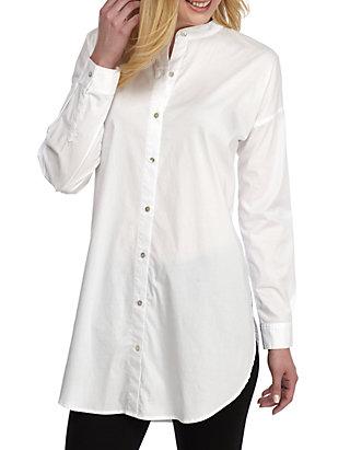 193552036a9 Eileen Fisher. Eileen Fisher Mandarin Collar Shirt