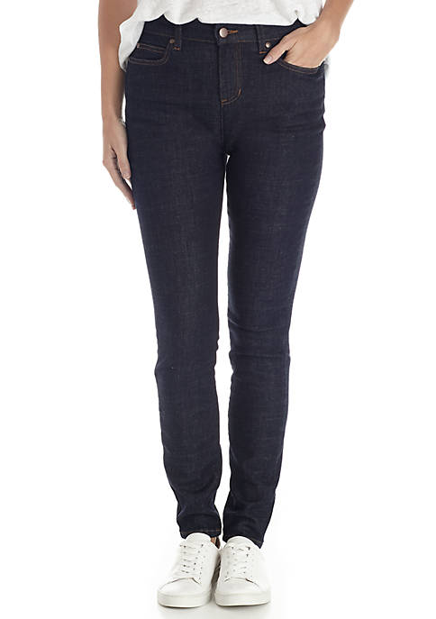 Eileen Fisher Stretch Denim Skinny Jeans