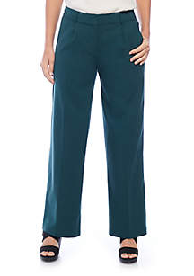 Wide Leg Tencel® Stretch Trousers