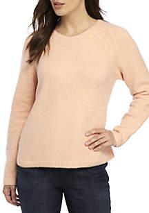 Round Neck Box Sweater