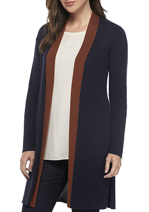 Eileen Fisher Long Silk Cardigan