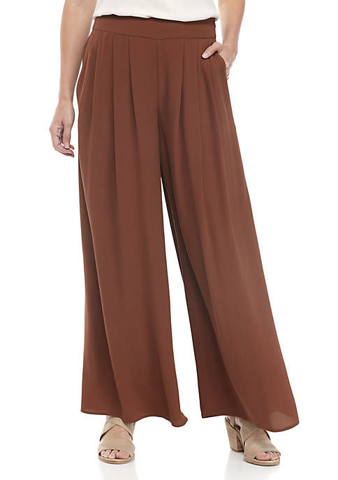 Eileen Fisher Wild Leg Crepe Pants