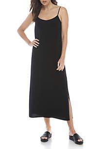 V-Neck Cami Floral Dress