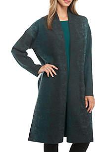 Oxi Boil Wool Kimono Coat