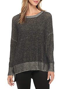 Ballet Neck Box Sweater