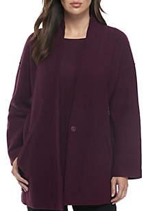 Kimono Boil Wool Lightweight Jacket