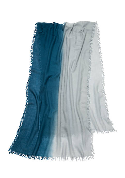 Eileen Fisher Silk Cashmere Ombre Scarf