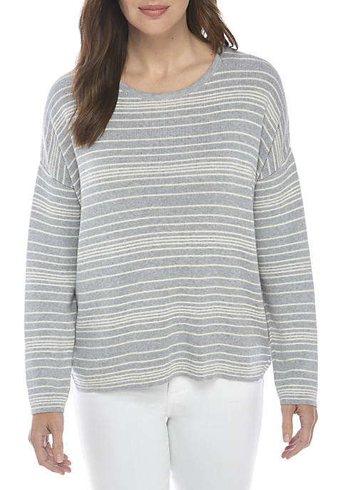 Eileen Fisher Crew Neck Box Top