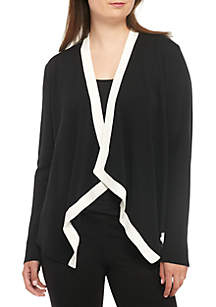 Angle Front Silk Jacket