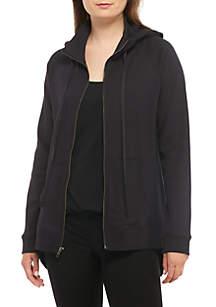 Cotton Interlock Hood Jacket
