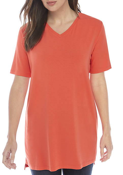Eileen Fisher V-Neck Jersey Tunic
