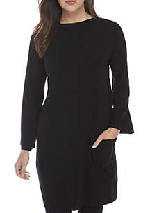 Funnel Neck Jersey Tunic