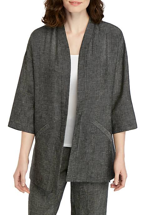 Eileen Fisher Tweed Kimono Jacket