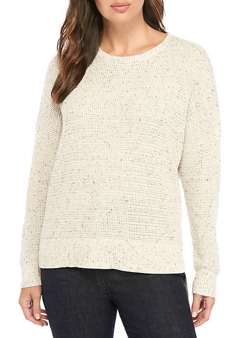 Speckle Crew Neck Sweater
