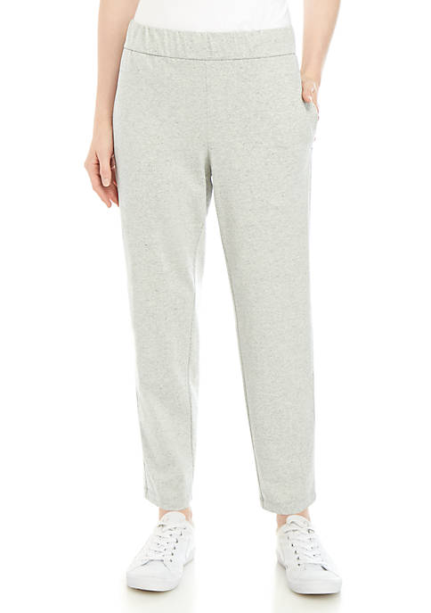 Eileen Fisher Speckled Tapered Ankle Pants