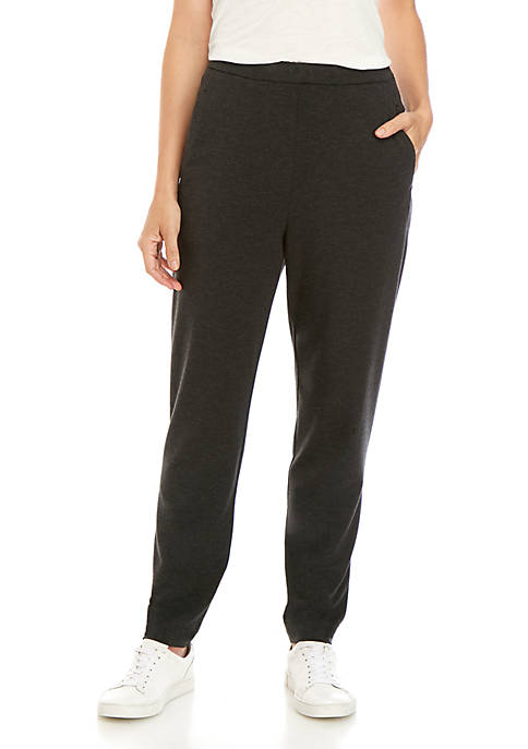 Cozy Slim Ankle Slouchy Pants