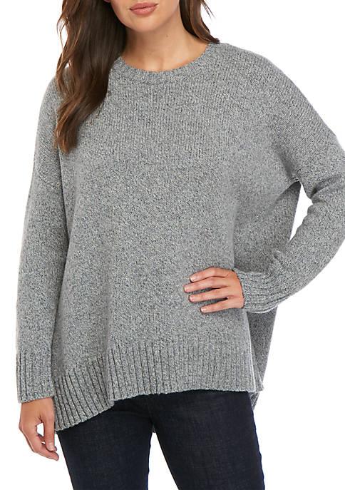 Multi Marl Oversized Sweater