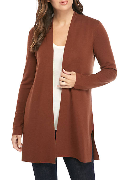 Essential Long Merino Cardigan