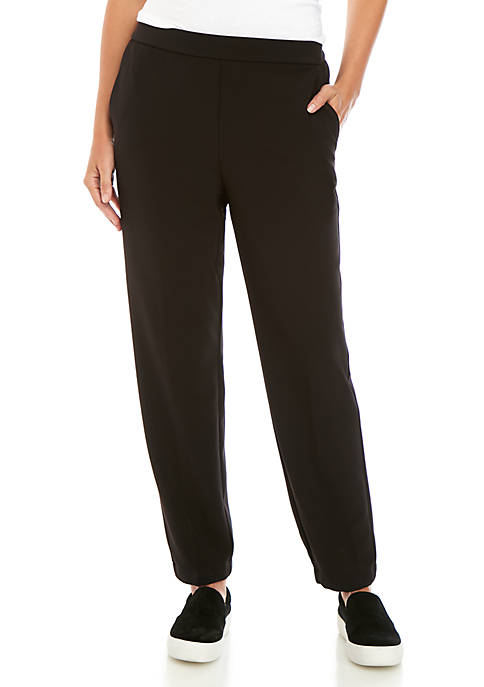 Eileen Fisher Pleated Track Pants