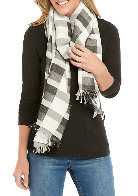 Eileen Fisher Modern Wool Scarf