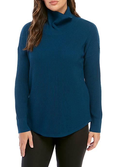 Eileen Fisher Cowl Neck Merino Sweater