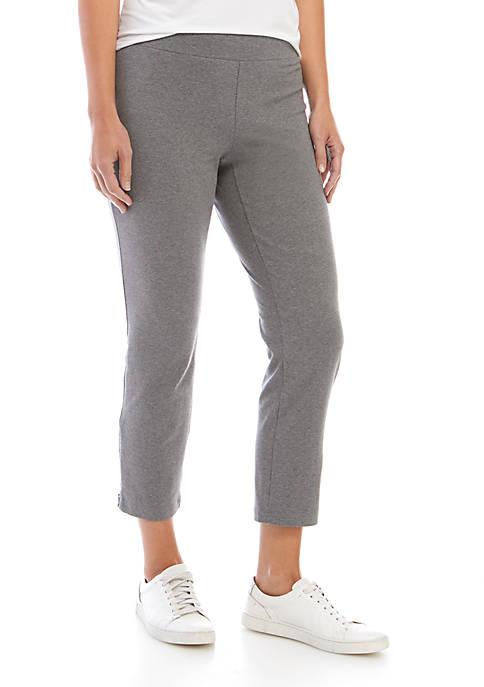 Heather Slim Ankle Pants
