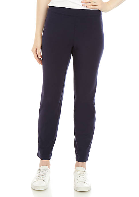 Eileen Fisher Slim Ankle Yoke Pants