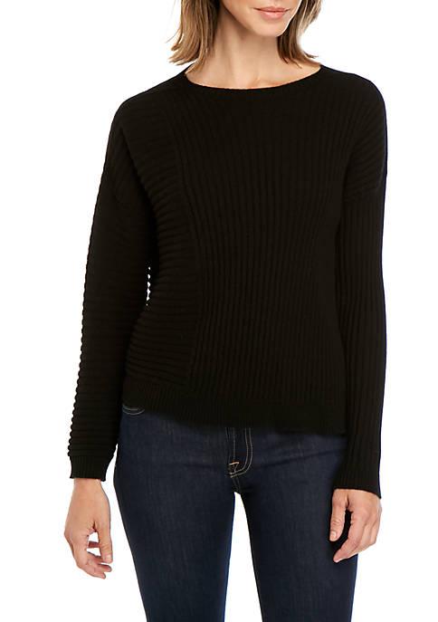 Eileen Fisher Round Neck Cashmere Sweater
