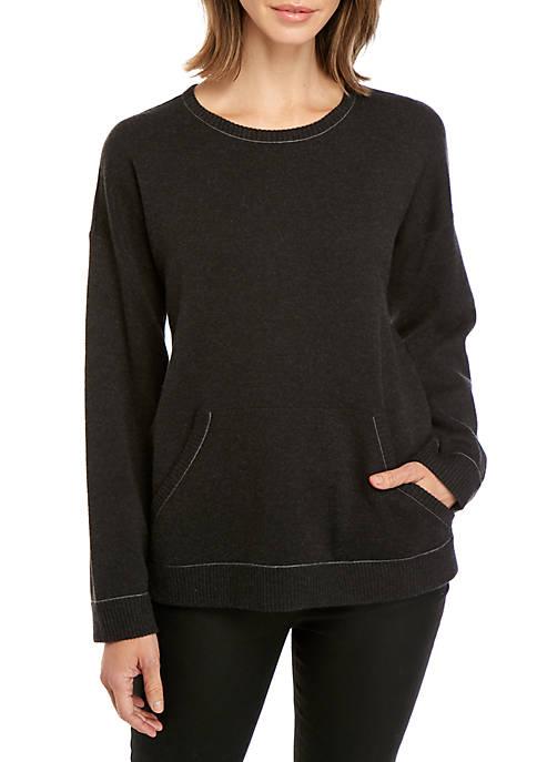 Knit Sweatshirt Sweater