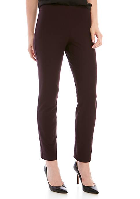 Slim Ankle Yoke Pants