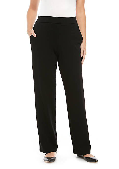 Eileen Fisher Straight Ponte Pants