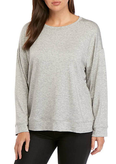 Eileen Fisher Round Neck Box T-Shirt
