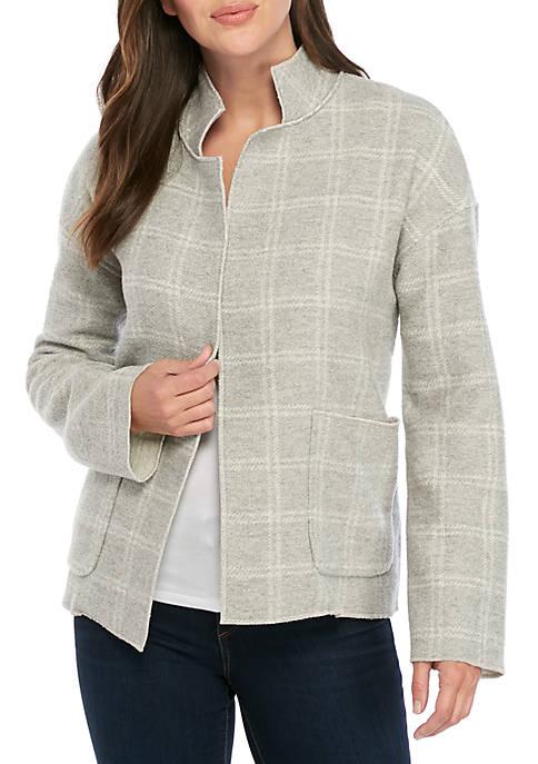 High Collar Wool Coat