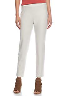 Slim Solid Pant