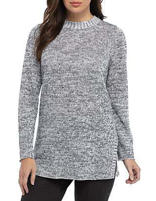 723916ea2385 Eileen Fisher. Eileen Fisher Round Neck Tunic Sweater