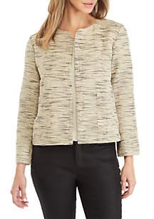 Eileen Fisher Jacquard Jacket