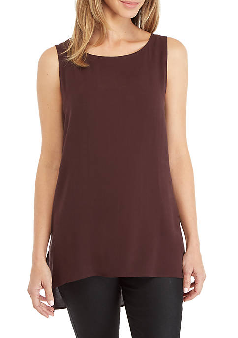 Eileen Fisher Bataunk Long Shell Tank Top