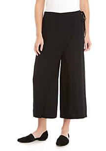 Eileen Fisher Wrap Front Pants