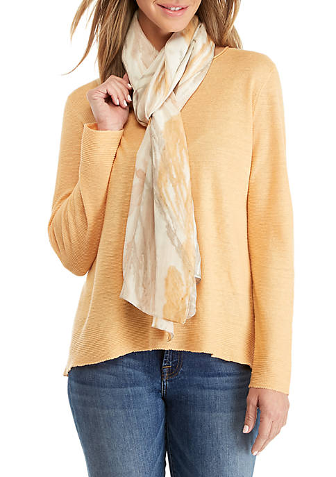 Eileen Fisher Painted Strokes Scarf