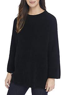 Round Neck Chenille Sweater