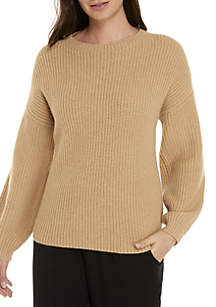 ... Eileen Fisher Round Neck Cashmere Sweater 61ce0f44f