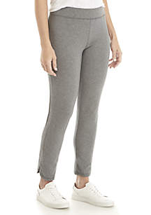 Slim Jersey Ankle Pants