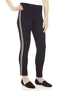 Slim Pants with Side Vents